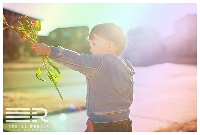 Rachael Wooten Photography natural light child and toddler outdoor natural light sunset lifestyle photographer