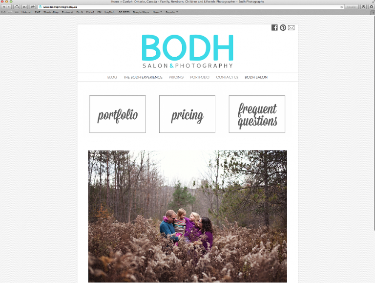 Rachael Wooten Photography creates custom ProPhoto blogsite designs for photographers and web business owners with a modern, clean and creative edge.